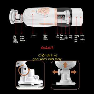 máy thủ dâm mát xa dương vật telescopic airbag