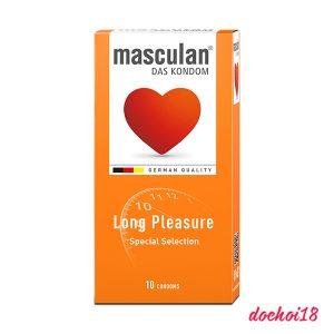 bao cao su masculan long pleasure 10 cái