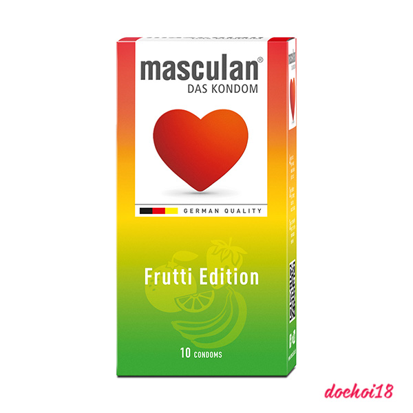 bao cao su masculan frutti edition 10 cái